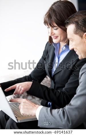 Businesspeople Working - stock photo