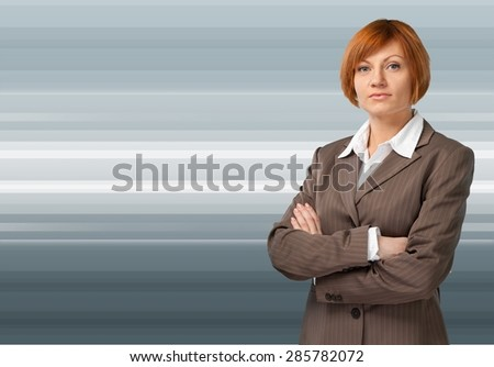 Businesswoman, Business Person, Women. - stock photo