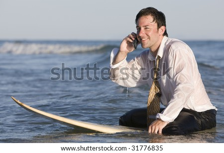 Busy at Work - stock photo
