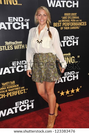 "Busy Phillips at the premiere of ""End of Watch"" at the Regal Cinemas LA Live. September 17, 2012  Los Angeles, CA Picture: Paul Smith"