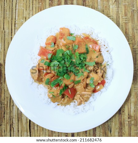 Butter Chicken 1 - stock photo