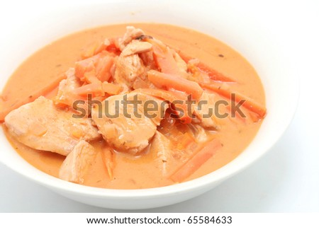 Butter Curry Chicken - stock photo