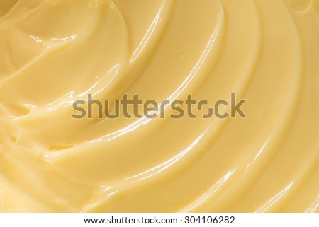 Butter texture background - stock photo