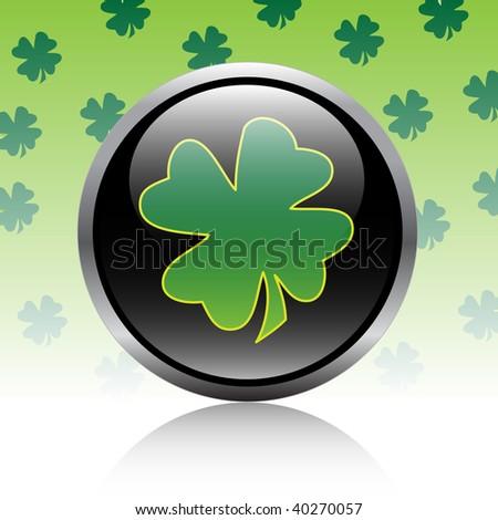 Button-clover - stock photo