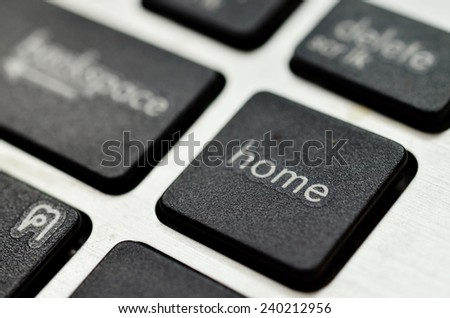 button of keyboard - stock photo