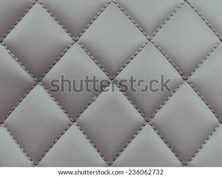 Buttoned on the Gray Texture. Repeat pattern - stock photo