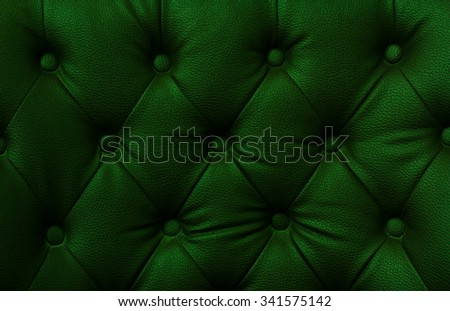 Buttoned on the Green Texture. Repeat pattern - stock photo