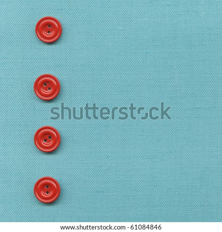 Buttons on the old clothes