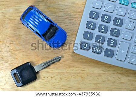 Buy Sell Rent a Car for business concept. - stock photo