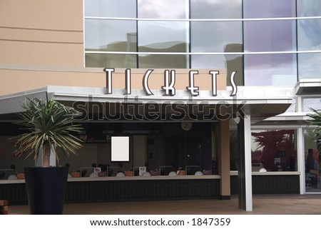Buy Tickets - stock photo