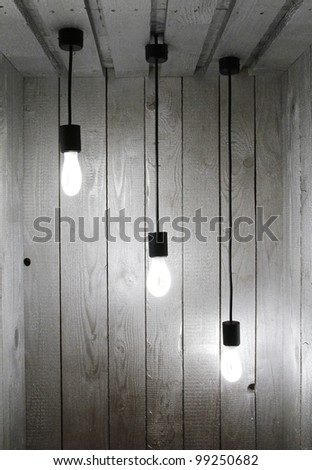 BW 3 Light - stock photo
