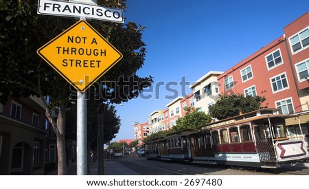 Cable Car Terminal (San Francisco) - stock photo