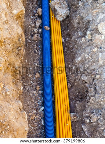 Underground Cable Stock Images Royalty Free Images