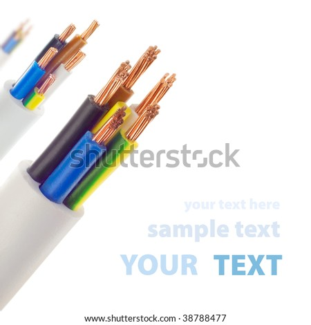 cables - stock photo