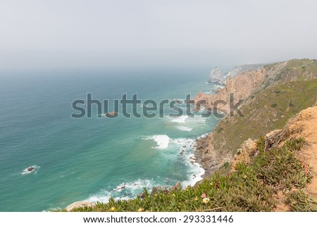 Cabo da Roca, Portugal - furthest Western point of Europe