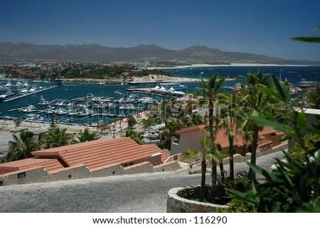 Cabo Marina - stock photo