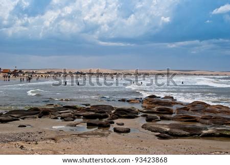 Cabo polonio, Uruguay - stock photo