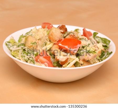 caesar Salad. photo - stock photo