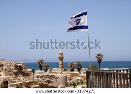 Caesarea.Israel - stock photo