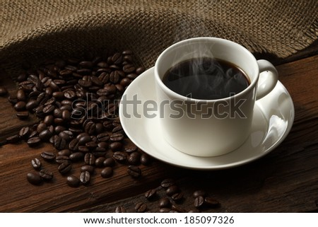 Cafe Coffee - stock photo