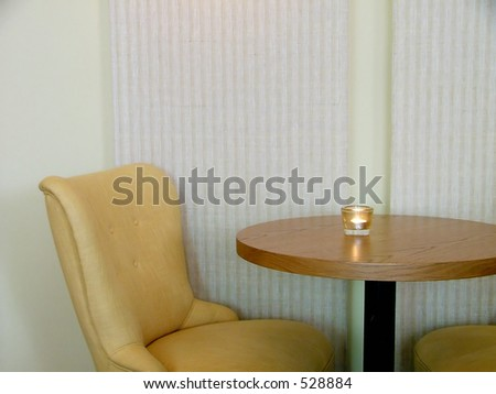 cafeteria seating - stock photo