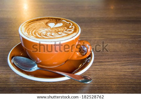 Caffe Mocha, Coffee - stock photo