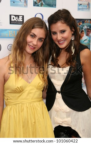 "Caitlin Wachs and Zoe Myers  at a screening of ""Beneath the Blue"" at the Hollywood Film Festival, Arclight, Hollywood, CA. 10-23-10"