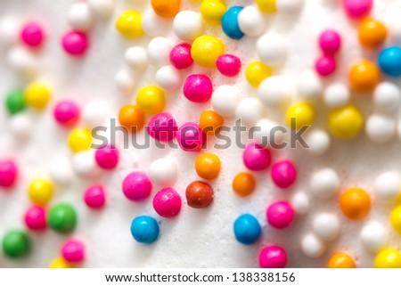 cake decor background - stock photo