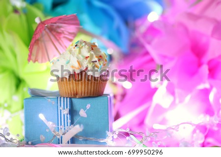 cake with buttercream celebration