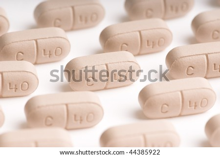 calcium - stock photo