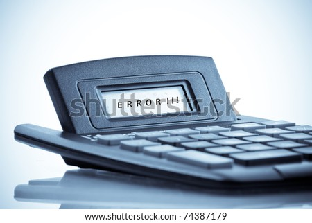 Calculation Errors