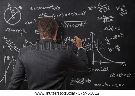 Calculations on the board