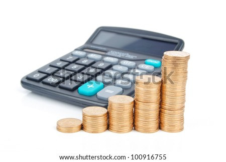 Calculator and coin