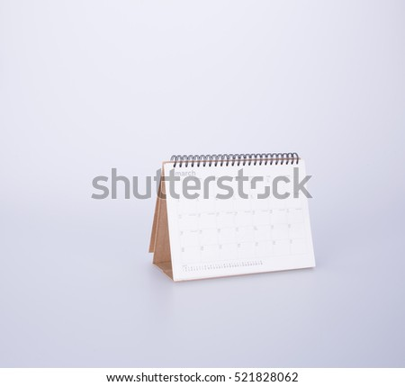 calendar or month planner calendar on background