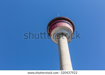 Calgary Tower, canada - stock photo