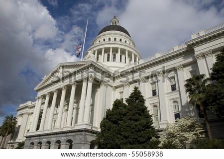 California Capitol Building - stock photo