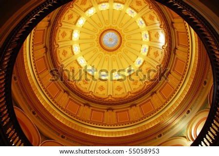 California Capitol Rotunda - stock photo