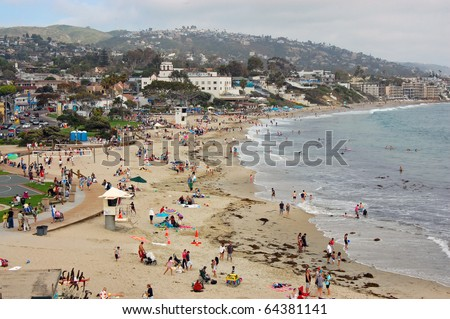 California - Laguna Beach - stock photo