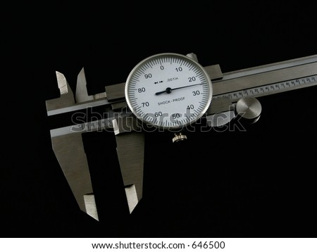 calipers - stock photo
