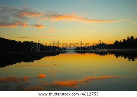 Calm Sunrise - stock photo