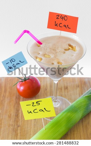 Calorie counting, calories - stock photo