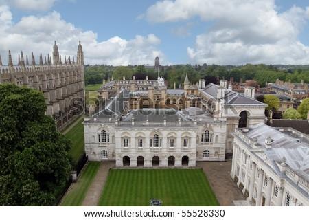 Cambridge University, England - stock photo