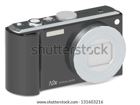 Camera Black - stock photo