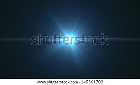 camera lens flare background - stock photo