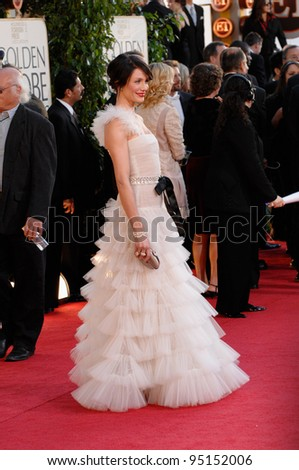 CAMERON DIAZ at the 64th Annual Golden Globe Awards at the Beverly Hilton Hotel. January 15, 2007 Beverly Hills, CA Picture: Paul Smith / Featureflash - stock photo