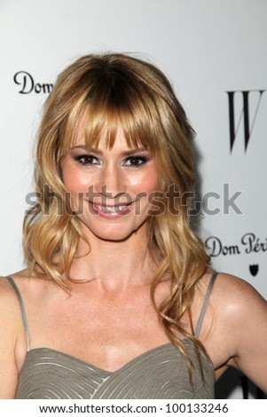 Cameron Richardson at the W Magazine Best Performances Issue Golden Globes Party, Chateau Marmont, West Hollywood, CA 01-13-12