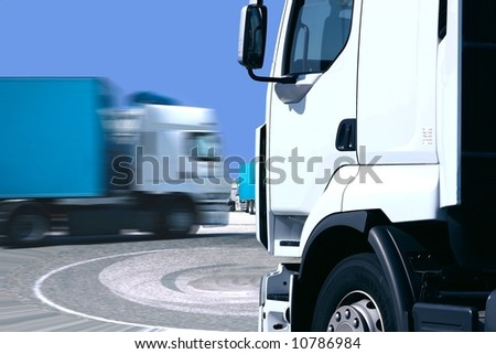 camions - stock photo