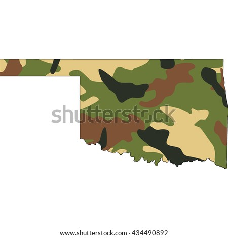 Camo texture in map - Oklahoma