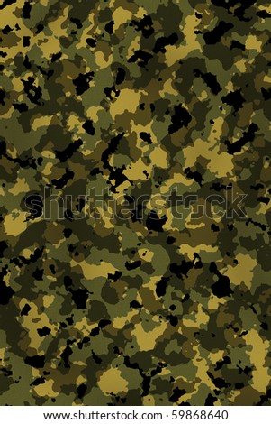 Camouflage - stock photo