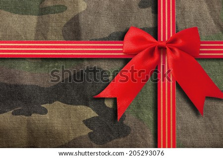 camouflage-military texture - stock photo